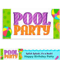 Pool Party! Custom Banner 6ft