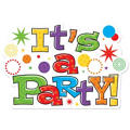 Horizontal Party Time Invitations 8ct