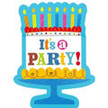 Cake Time Birthday Invitations 8ct