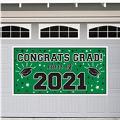 Green 2015 Graduation Banner