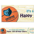 Memphis Grizzlies Custom Banner 6ft