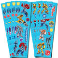 Transformers Stickers 8 Sheets