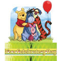 Pooh and Pals Birthday Centerpiece 12in