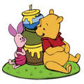 Pooh and Pals Candle 2in