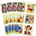 Pooh and Pals Stickers 4 Sheets