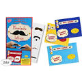 Deluxe Moustache Valentines Day Cards 24ct