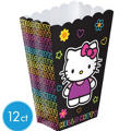 Neon Hello Kitty Favor Containers 12ct
