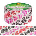 Heart Print Duck Tape