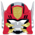 Red Power Rangers Mask