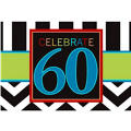 Celebrate 60th Birthday Invitations 8ct