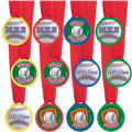 Baseball Award Medals 12ct
