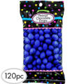 Royal Blue Peanut Chocolate Drops 120pc