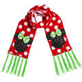 Child Holiday Minnie Mouse Scarf