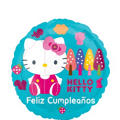 Feliz Cumpleanos Hello Kitty Balloon
