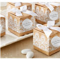 Rustic Lace Wedding Favor Boxes