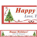 Traditional Christmas Custom Banner