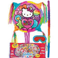 Add-a-Balloon Rainbow Hello Kitty Pinata Kit