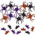 Glitter Spider Table Scatters 20ct