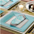 Turquoise Border Party Supplies