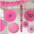Bright Pink Decorations