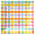 Colorful Gingham Party Supplies