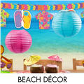 Beach and Pool Party Decorations