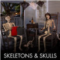 Skeletons & Skulls Halloween Decorations
