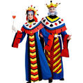 Playing Card Queen and Playing Card King Couples Costumes