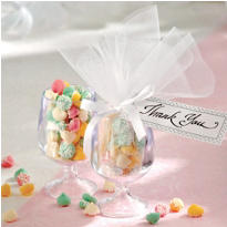 Goblet Wedding Favor Kit
