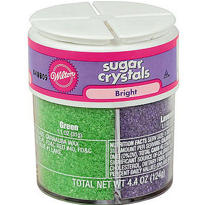 Sugar Crystal 4-Mix Sprinkles 4.4oz