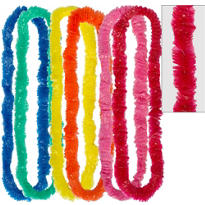 Colorful Poly Leis 36in 50ct