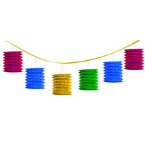 Tiki Lantern Garland 12ft
