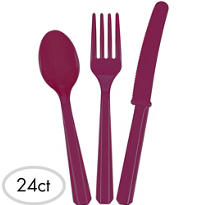 Berry Cutlery Set 24pc
