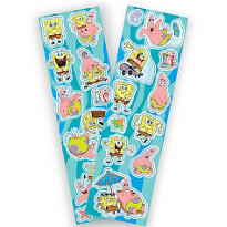 SpongeBob SquarePants Stickers 2 Sheets
