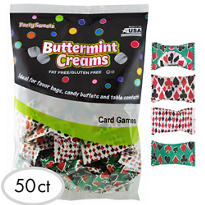 Poker Card Mints Pillow 50ct