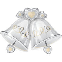Platinum Proposal Foil Wedding Balloon