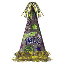Over the Hill Party Hat