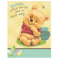 Pooh Baby Days Baby Shower Invitations 8ct
