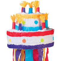 Birthday Cake Pinata 11in