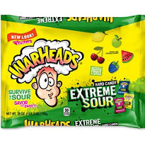 Extreme Sour Warheads Candy 175ct