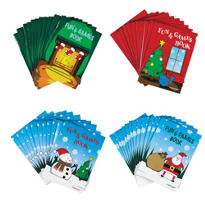 Christmas Fun Activity Pads 48ct <span class=messagesale><br><b>10¢ per piece!</b></br></span>