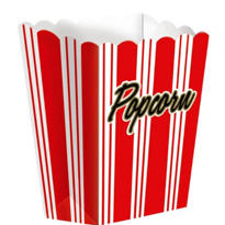 Large Movie Night Popcorn Boxes 8ct