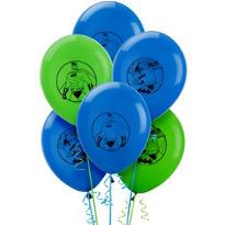Latex Batman Balloons 12in 6ct