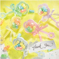 Multicolor Rattles Baby Shower Favor Kit 20ct