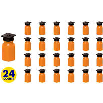 Orange Grad Cap Bubbles 24ct