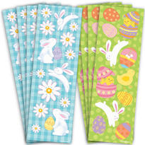 Easter Sticker Strips 8 Sheets