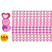 Valentines Day Mini Erasers 144ct