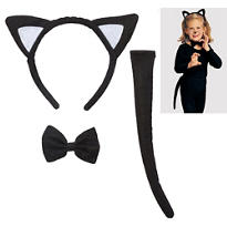 Child Cat Costume Kit
