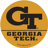 Georgia Tech Yellow Jackets Magnet