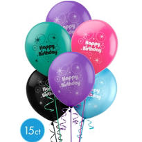 Party Time Latex Balloons 15ct